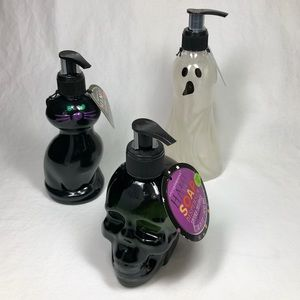 Halloween Hand Soap Refillable Pump Dispensers